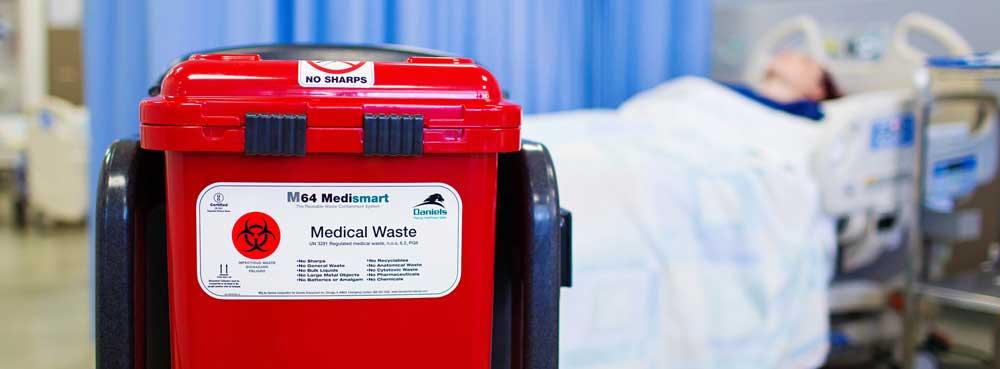 examples of biohazardous waste daniels health