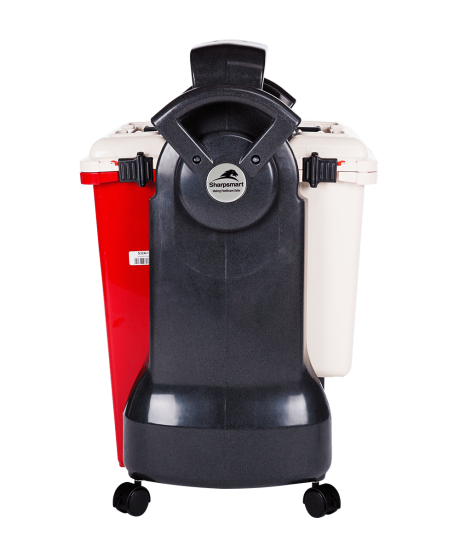 Cartsmart 2 Mobile Cart for Medical Waste Containers