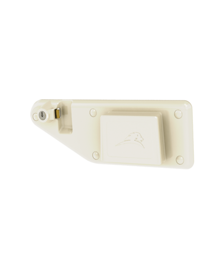 Left-Locking Wall Bracket for S-Series Medical Waste Containers