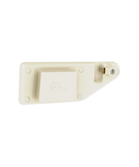 Right-Locking Wall Bracket for S-Series Medical Waste Containers
