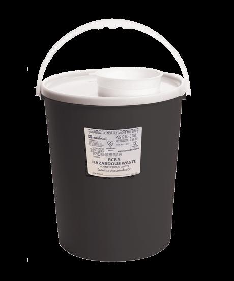 RCRA Hazardous Waste Container 3 Gallon